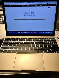 "Apple 12"" MacBook - Perfect Condition 8GB 256Gb Port Melbourne Port Phillip Preview"