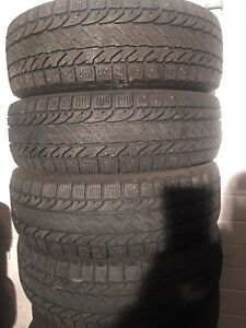 4-195/65R15 Bfgoidrich winter tires