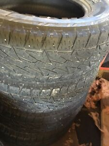 Bridgestone dueler AT P245/70R17 Lots of tread left.