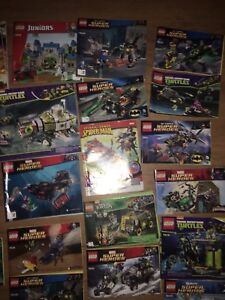 LEGO BATMAN NINJA TURTLES SUPERHEROS