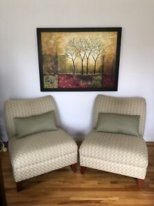Chairs, Pillows & Picture