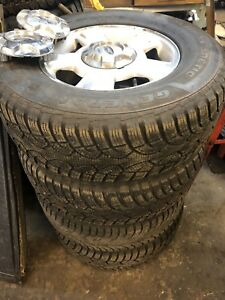 265/70/17 winter tires with Ford F-150 6 bolt wheels