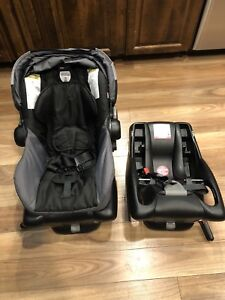 Britax B-Safe Car Seat with 2 bases