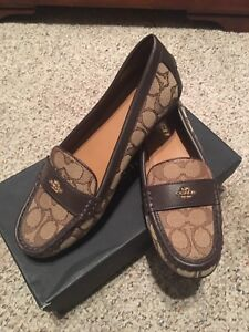Coach brown Loafers