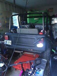 Projet jeep yj / cj à vendre