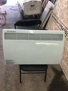 Wall mount heater