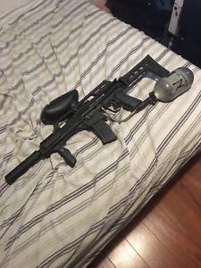 Sick paintball gun