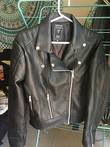Guess Leather Jacket - almost new! North Melbourne Melbourne City Preview