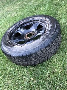 4 winter studded tires for sale $375