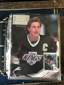 1st Beckett hockey magazine collection 1-75