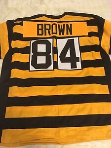 Pittsburgh Steelers Antonio Brown Bumblebee Jersey. Size XL