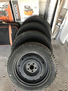 205/55/16 WINTER TIRES 5x100 with Rims