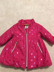 Baby girl winter coats