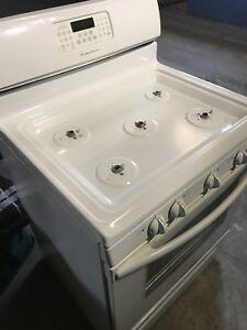 Natural gas stove.