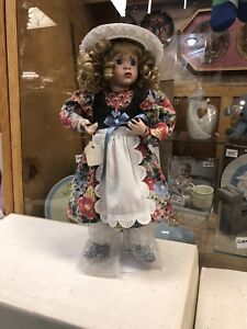 New in Box Ashton Drake Porcelain dolls