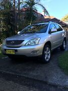 Lexus RX330 Sport Luxury,Tow Bar,Roof Racks Naremburn Willoughby Area Preview
