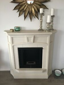 Beautiful Ethanol Fireplace **REDUCED**