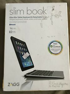Zagg Slim Book for iPad Pro / Air 2 Keyboard Case