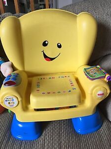 Fisher price learn and grow chair
