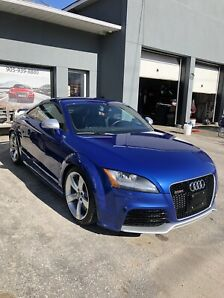 2012 Audi TT RS all original sepang blue