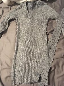 Grey thyme maternity top