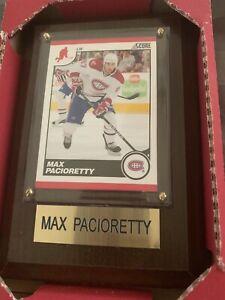 Mini cadres avec leur cartes d'hockey! NEIG