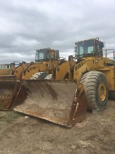 1980 and 1982 Michigan  Loaders for sale