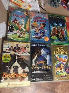 11 VHS tapes Langwarrin South Frankston Area Preview