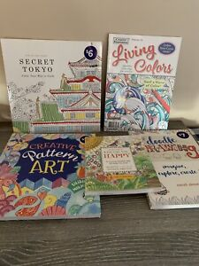 Adult Colouring & Drawing Books