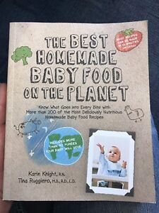 Baby food book