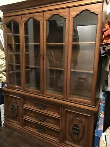 Antique buffet and hutch for sale
