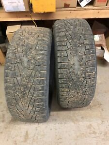 275 55 r 20 Nokian studded winter tires
