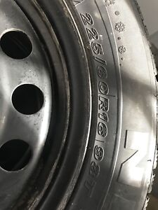 225/60R16 Rims and tires