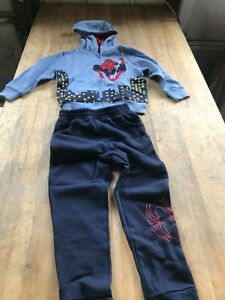 Spider man sweater and pants outfit