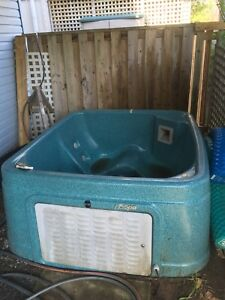 Better than Free Two Person Hot Tub.