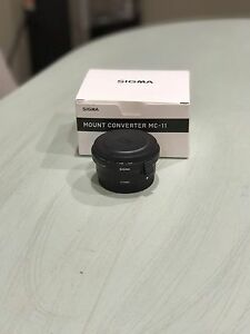 Sigma MC-11 Adapter (Canon to Sony Full frame)