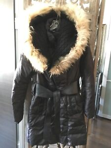 Manteau Rudsak noir coat small