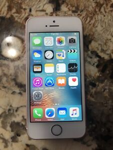 iPhone SE 16GB unlocked Rose gold Good condition $150 firm!!!