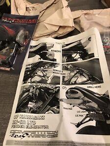 Kawasaki ZX-6R fender eliminator kit