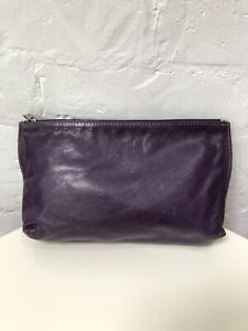 M0851 Leather Pouch Or Clutch