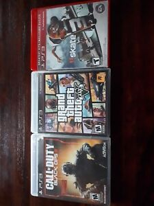 Jeux PS3 Call of duty, GTA, Skate