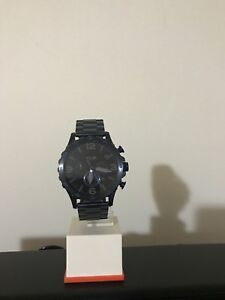 Brandnew NATE CHRONOGRAPH BLUE STAINLESS STEEL fossil watch