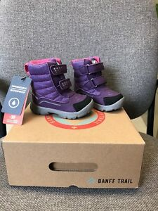 Size 6 toddler Banff Trail boots