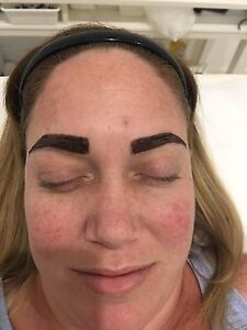 Eyelash and eyebrows wax and tint for $25 Ascot Belmont Area Preview
