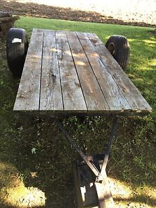 4' By 8' Flat Bed Yard Trailer/Different Projects