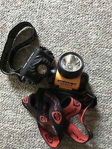 Two head lamp flashlights ONLY 15$