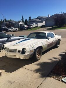 1981 Chevy camaro z28 project car