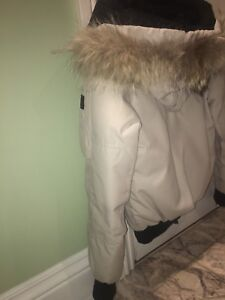 Canada Goose off-white Puffer