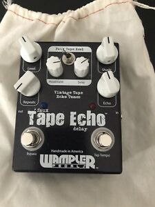 Wampler Faux Tape Echo With Tap Tempo For Sale