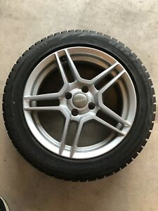 Mini Cooper Winter tires with alloy rims